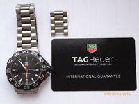 Genuine Tag Heuer F1 Formula 1 Gents Watch Black WAH1110