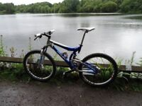 Giant VT. Great condition (BARGAIN) Brilliant suspension 27 Sp. Hydraulic Brakes. Very Light & Fast