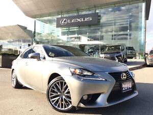 2014 Lexus IS 250 1 Owner AWD Lthr BUcam Sroof Btooth