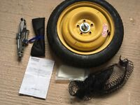 Honda Civic brand new spacesaver spare wheel and accessories