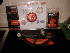 ktm 450 various parts standard and new after rebuild 450 exc 2009