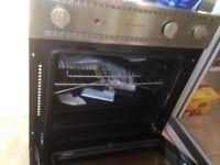 New gas oven and gas cooker