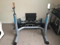 Adjustable squat rack B800 Ultra