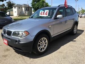 2005 BMW X3 2.5L -NO ACCIDENT - SAFETY & E-TESTED