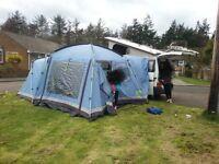 Driveaway tent