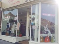 Finchley High Street A1 Shop &Basement to Let (lease transfer)