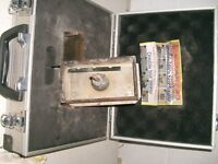 Electrical box sinkers and cutters