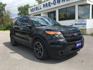 2013 Ford Explorer Sport 4WD  *V6 Ecoboost  Moon  Leather  Nav