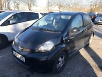 Toyota Aygo black 5 door