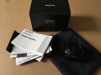 Fujinon 27mm XF 2.8 pancake lens, Fujinon 18-50mm F3.5-5.6 zoom lens