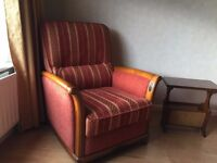 Suite of lounge furniture - sofa / armchair / tub chair