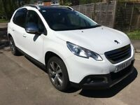 Peugeot 2008 2014 white 1.6 HDI