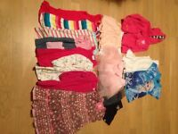 Bundle of girls clothes age 2-3 years
