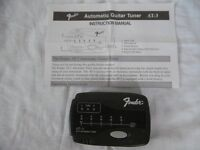 Fender automatic electric guitar tuner