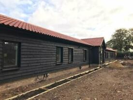 Newly converted eco friendly rural offices