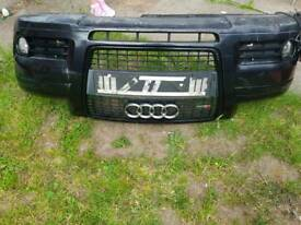 Audi s line bumper