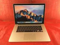Macbook Pro 15inch [RETINA] A1398 2.4Ghz Intel Core i7 8GB Ram 256GB SSD 2013 WARRANTY, NO OFFERS