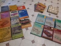 CLASSIC CAR REPAIR MANUALS ASSORTMENT...MAINLY HAYNES &On The Road Magazines