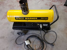 Low Fume Paraffin/Diesel Space Heater with Remote Thermostat