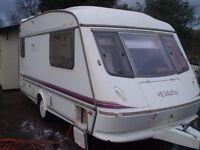 2 berth eldiss mistral gtx touring caravan