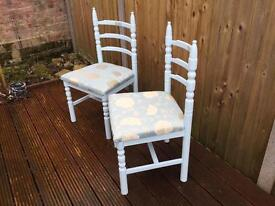 Chairs - £50 for the pair or £30 each