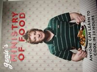 2 Jamie Oliver Cookery Books