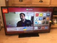 """Hitachi 42"""" Smart LED 1080p Full HD Built-in Wi-Fi DELIVERY"""