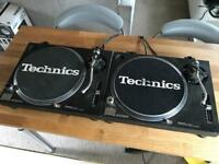 2x Technics SL 1210 MK2 Turntables - Need service