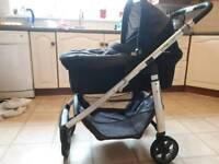 Uppa Baby Cruz pram and carrycot