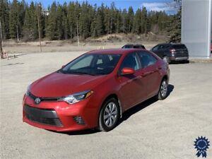 2016 Toyota Corolla LE 5 Passenger Front Wheel Drive, 1.8L Gas