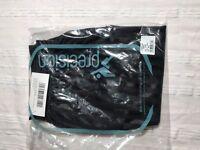 57x Pairs New Football Shorts Precision Training Black Striped Bulk Size 30/32