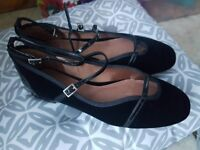 brand new size 6 black shoes from next collection antrim