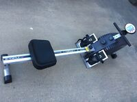 Rowing machine barely used fair condition