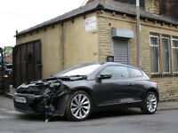 VW SCIROCCO GT 2.0 TSI 2008 - 2013 BREAKING SPARES DAMAGED 07901693105 01924455554