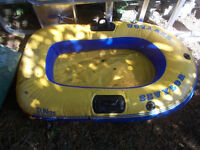 Inflatable Yellow Boat
