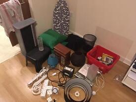 Job lot of household items