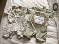 Selection of baby clothes