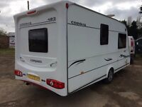 compass corona 2006 model all paperwork motor mover+full awning,NO DAMP,very clean and fresh caravan