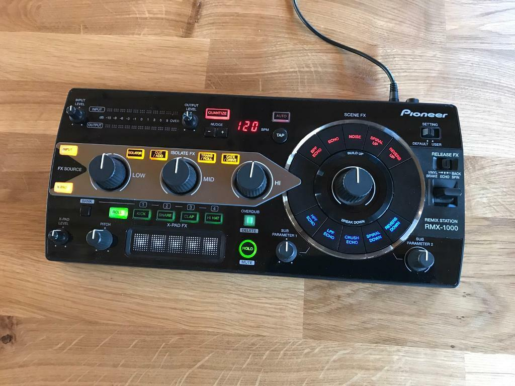 Pioneer RMX 1000 + Deck saver + power cable