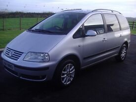 2004 VW Sharan - 7 seater 158k miles. Very Clean. Great Family Car