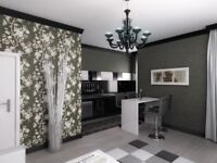Interior Design projects, Bespoke kitchens and furniture, Interior Finishing Services
