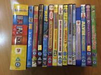 16 Children's/Toddler DVD's inc. Disney