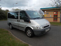 FORD TRANSIT TOURNEO GLX SWB 9 SEATER MINIBUS DIESEL 2.0 SILVER BARGAIN ONLY £1950 *LOOK*PX/DELIVERY