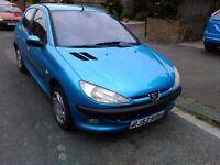 Peugeot 206 2002 for spares or repair as head gasket blown; still runs, no MOT