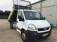 Vauxhall movano 2.5 cdti dropside tipper, Only 1 owner from new, Great condition!