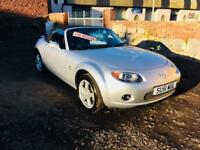 Mazda mx5 convertible 55 reg low mileage service history very clean drives perfect px welcome