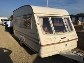 bailey pageant 1996 year 2 berth,clean caravan for the age
