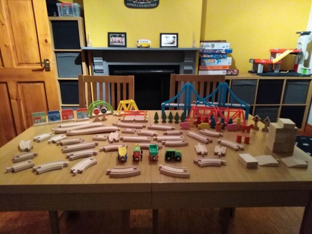 Carousel Wooden Train Set Road Track In Bedwas Caerphilly Gumtree