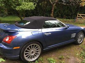 Rare convertible Chrysler Crossfire SRT6 automatic