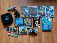PS1 Wii Xbox games plus accessories